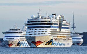 AIDA Kreuzfahrtschiffe - die Flotte von AIDA Cruises / © AIDA