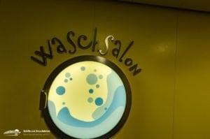 Waschsalon: AIDA Hyperion Klasse