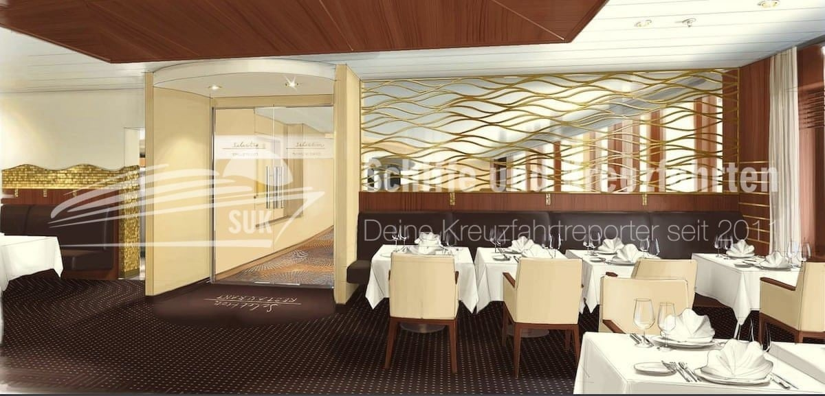 Das neue AIDAcara Selection Restaurant